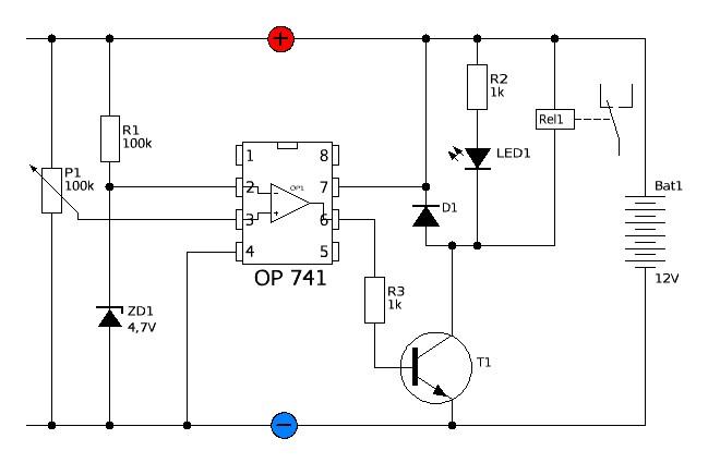 Der Strippenstrolch - LEDs parallel