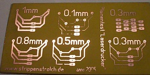 Platine ätzen laserdrucker
